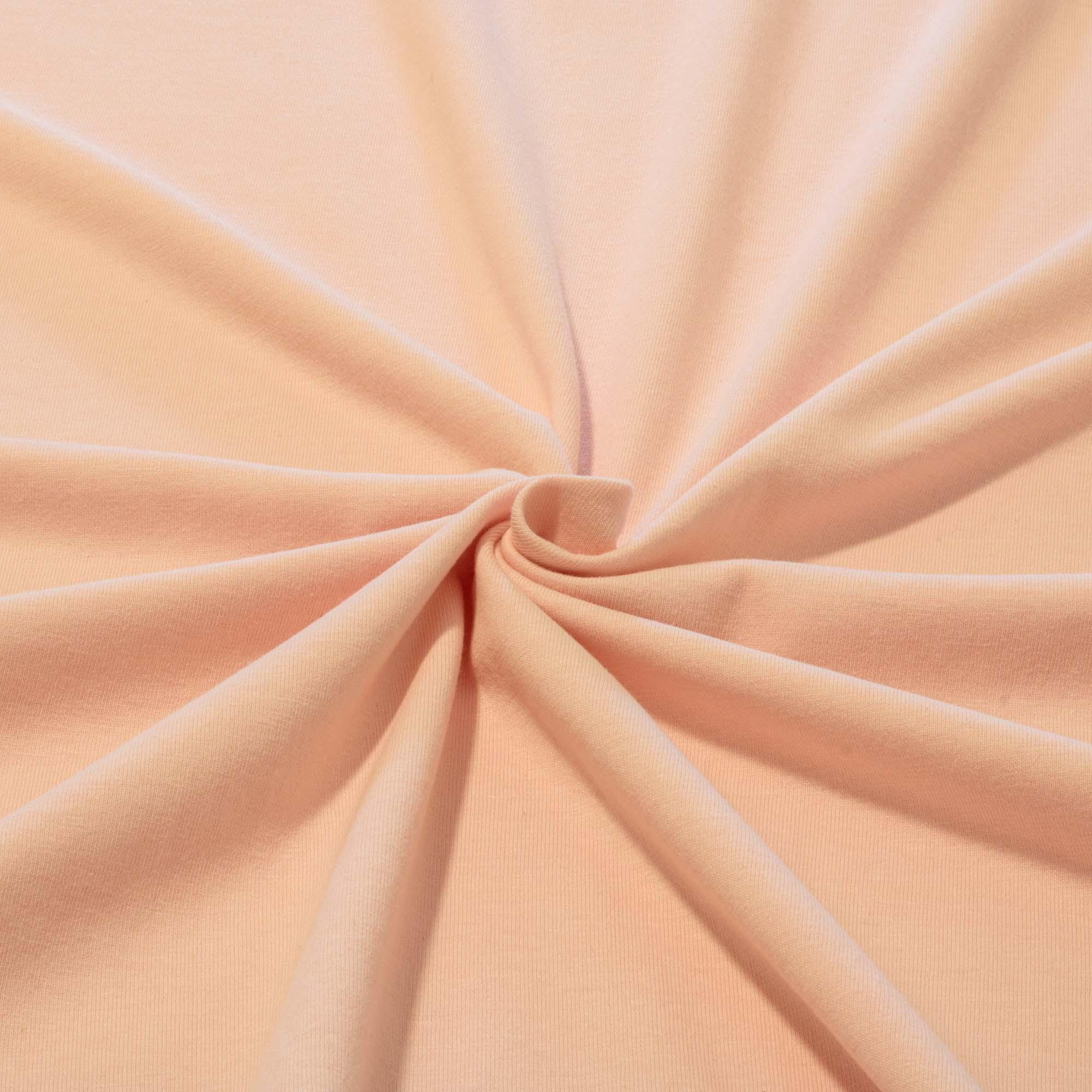 Tecido Malha de Algodão 100% Algodão Rosa Bebê