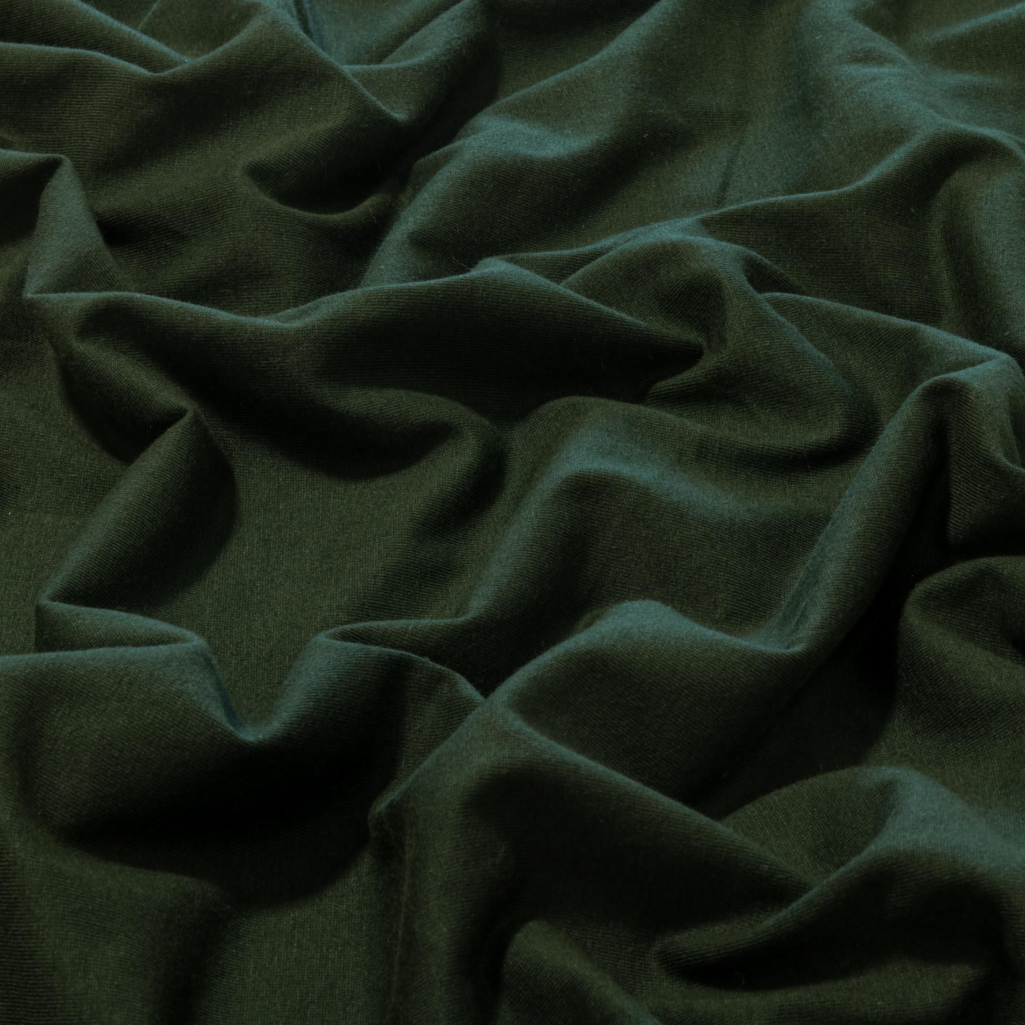 Tecido Malha de Algodão 100% Algodão Verde Militar