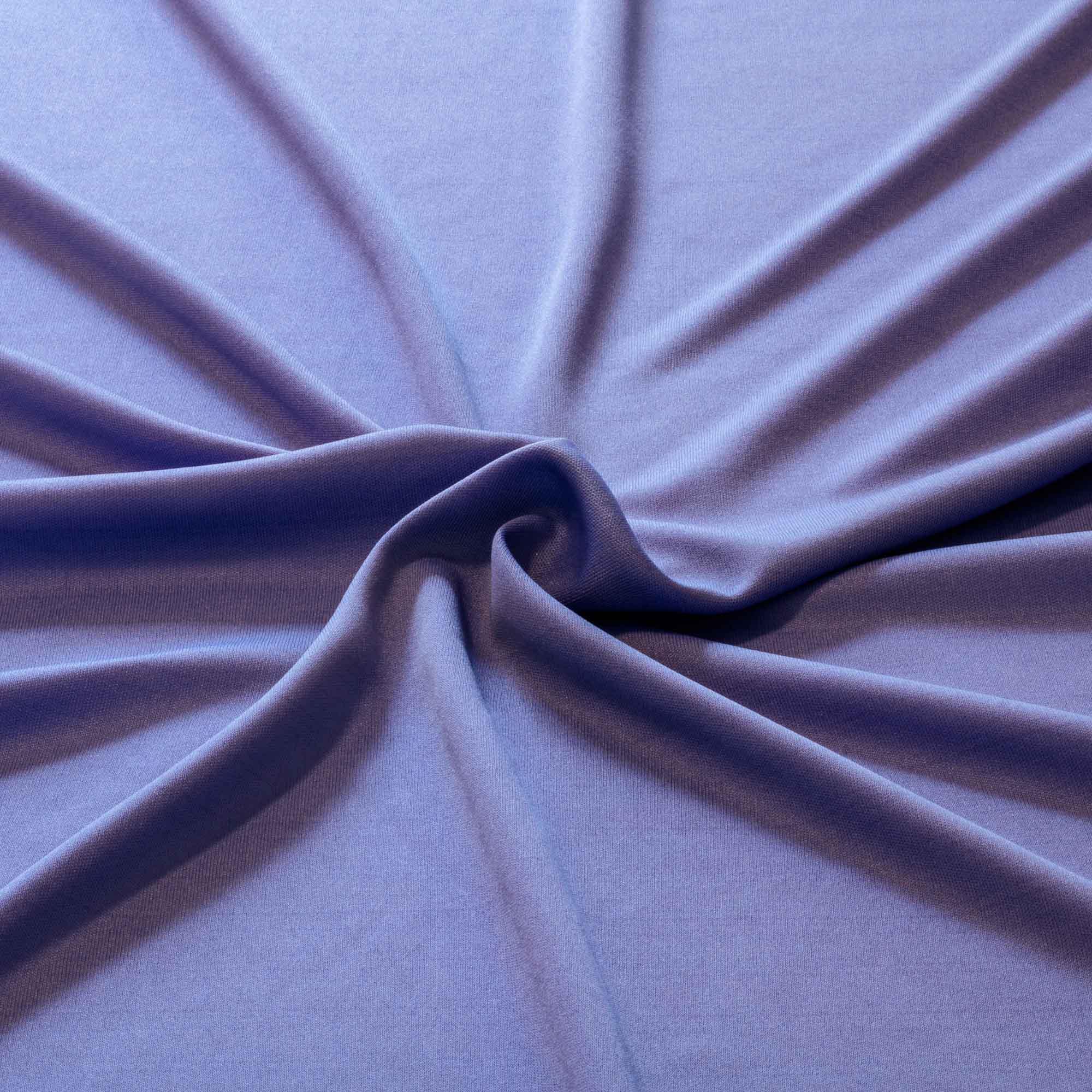 Tecido Malha Helanca Light Azul 100% Poliester 1,80 mt Largura