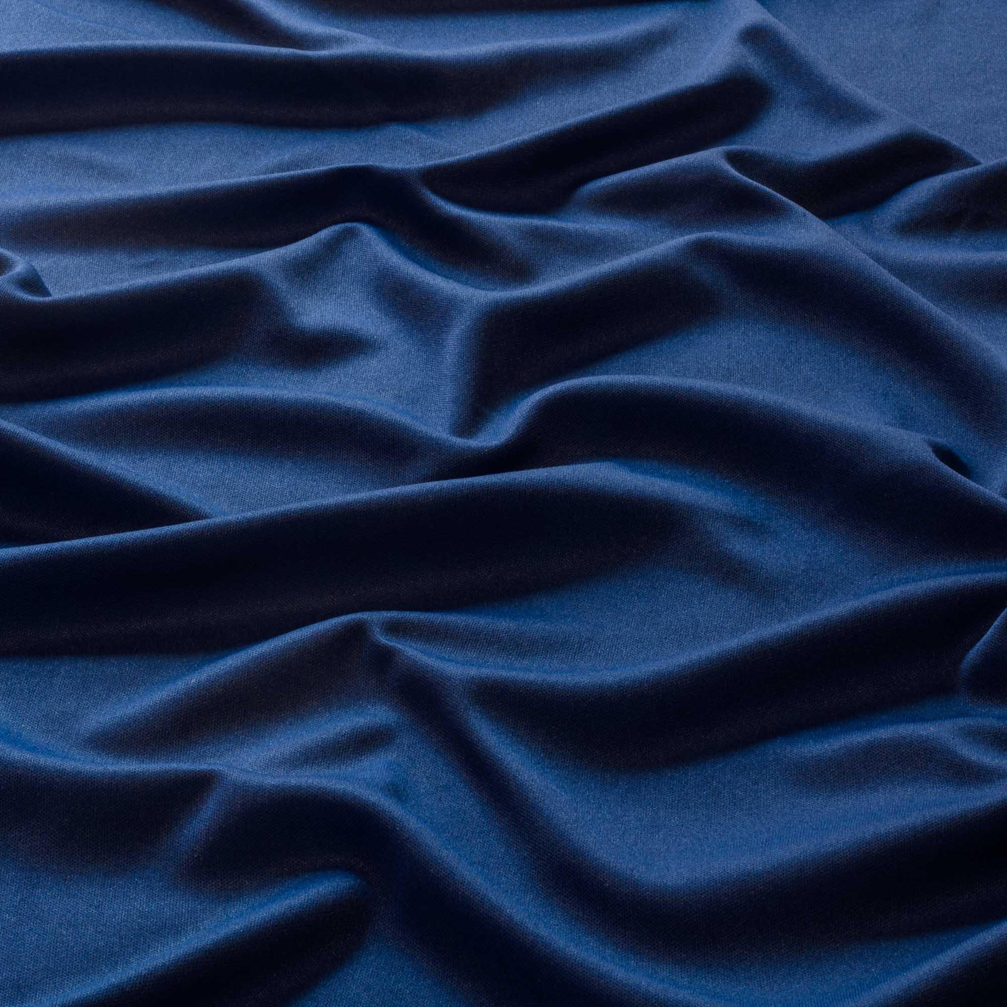 Tecido Malha Helanca Light Azul Royal 100% Poliester 1,80 mt Largura