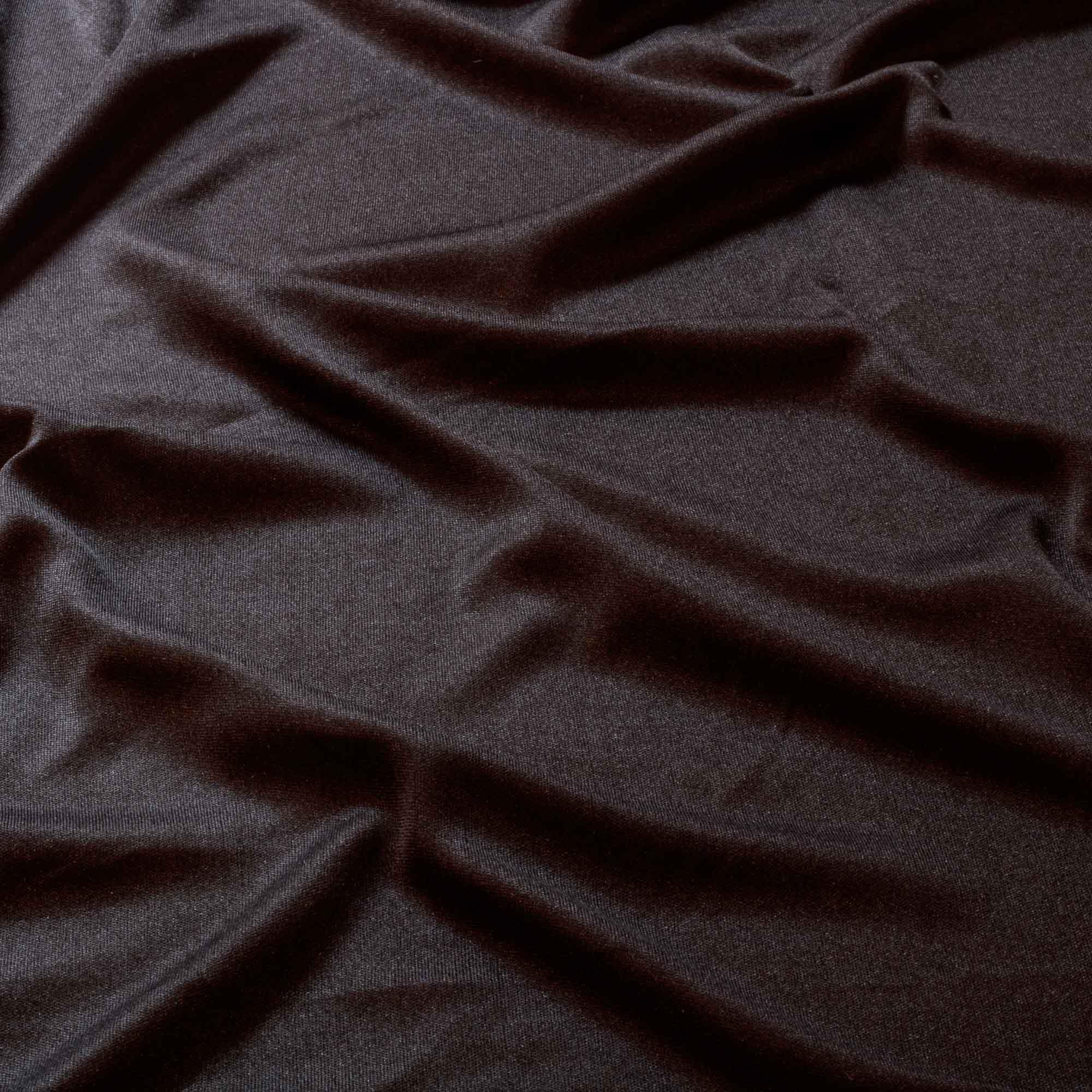 Tecido Malha Helanca Light Preta 100% Poliester 1,80 m Largura
