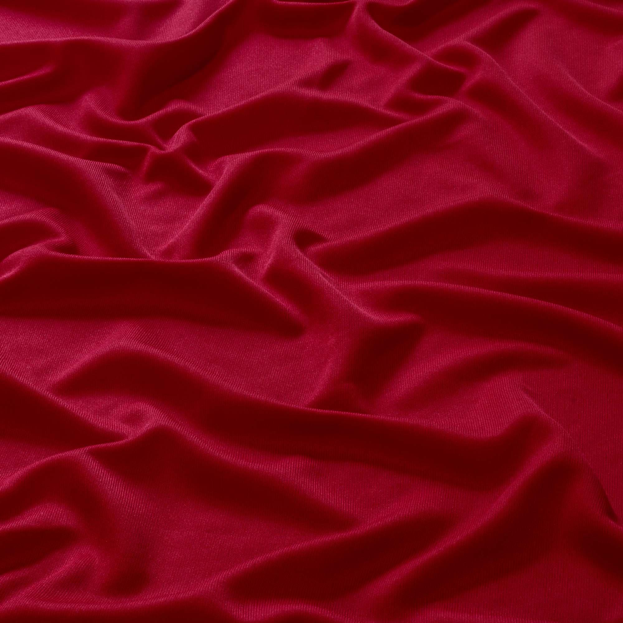 Tecido Malha Helanca Light Vermelha 100% Poliester 1,80 mt Largura