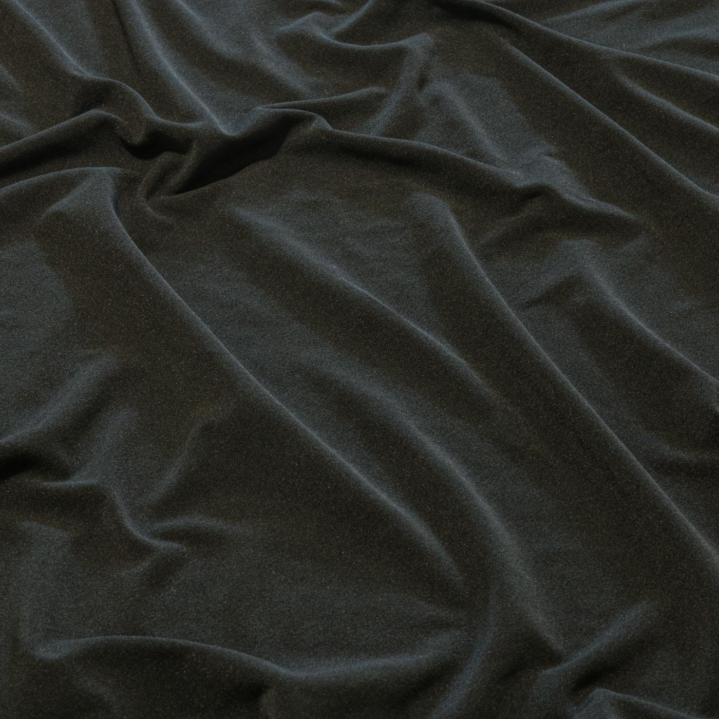 Tecido Malha Liganete Liso  96% Poliéster 4% Elastano  Preto