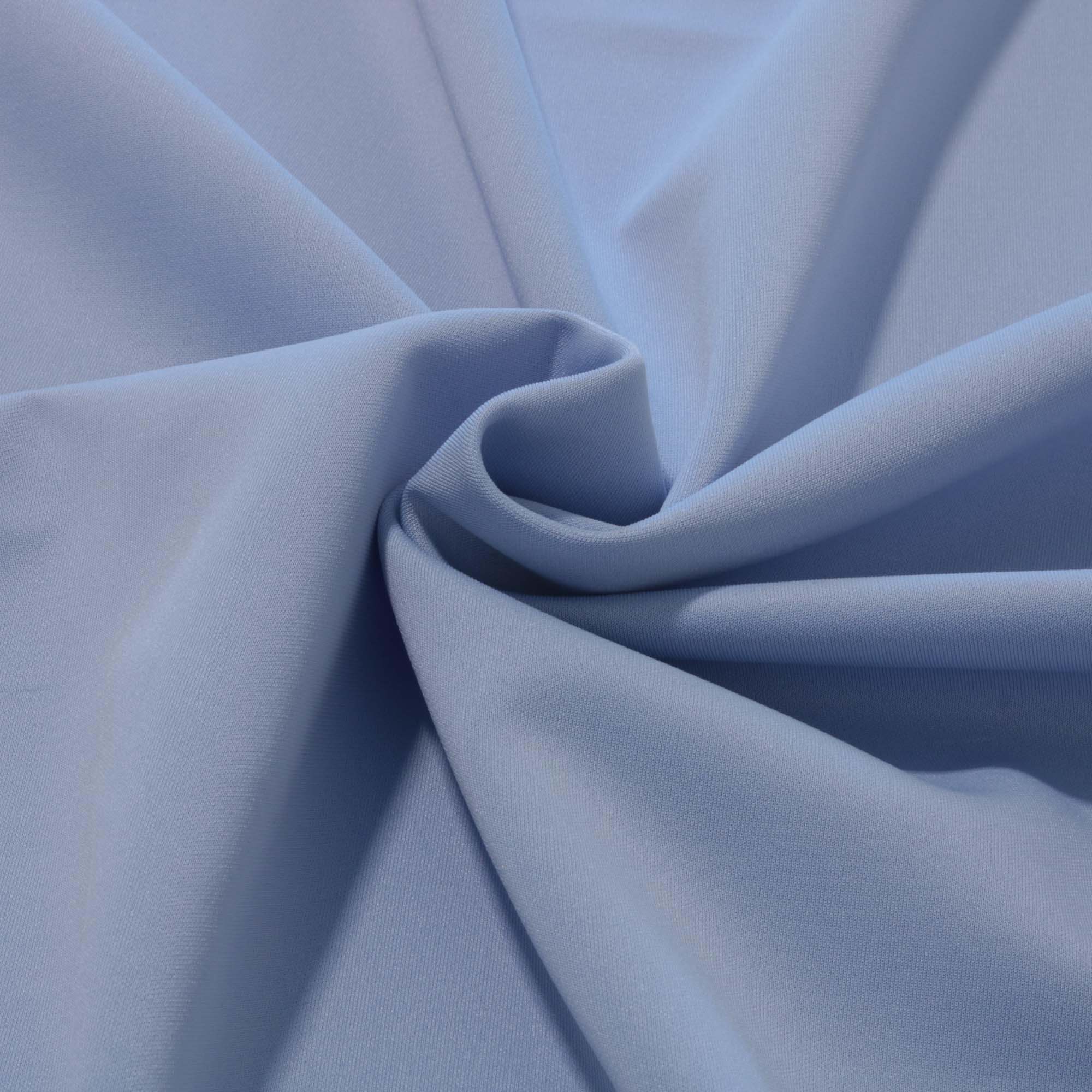 Tecido Malha Neoprene 1,60 m Largura Azul Claro