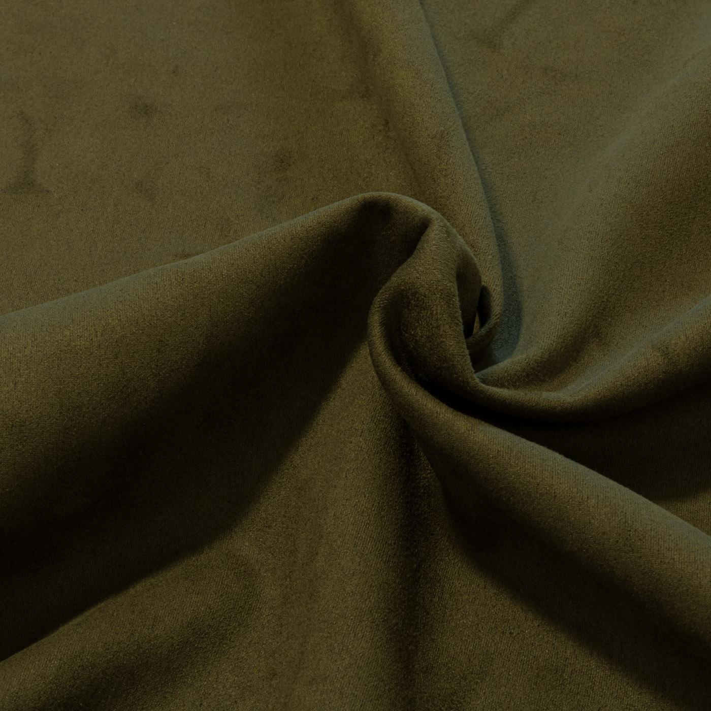 Tecido Malha Suede Verde Militar Liso Neo Scuba Com Elastano