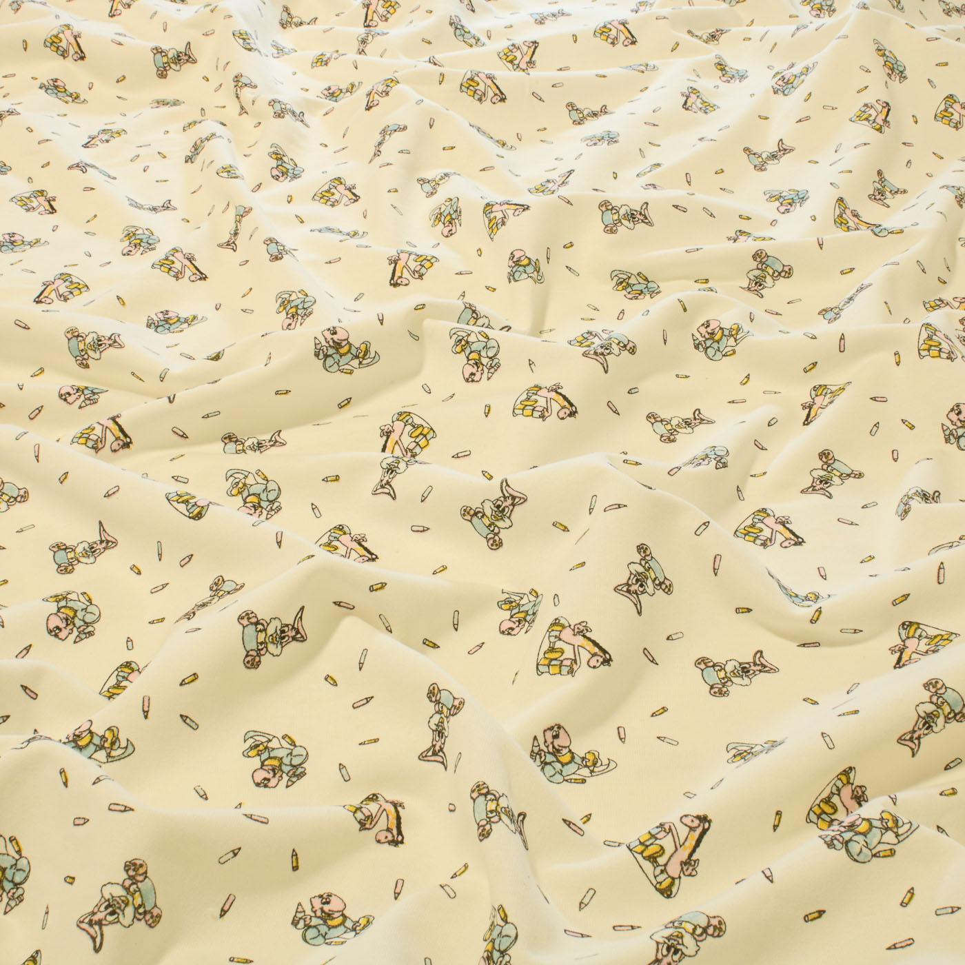 Tecido Moletinho Estampado 100% Algodão Coelhinhos Girafinha