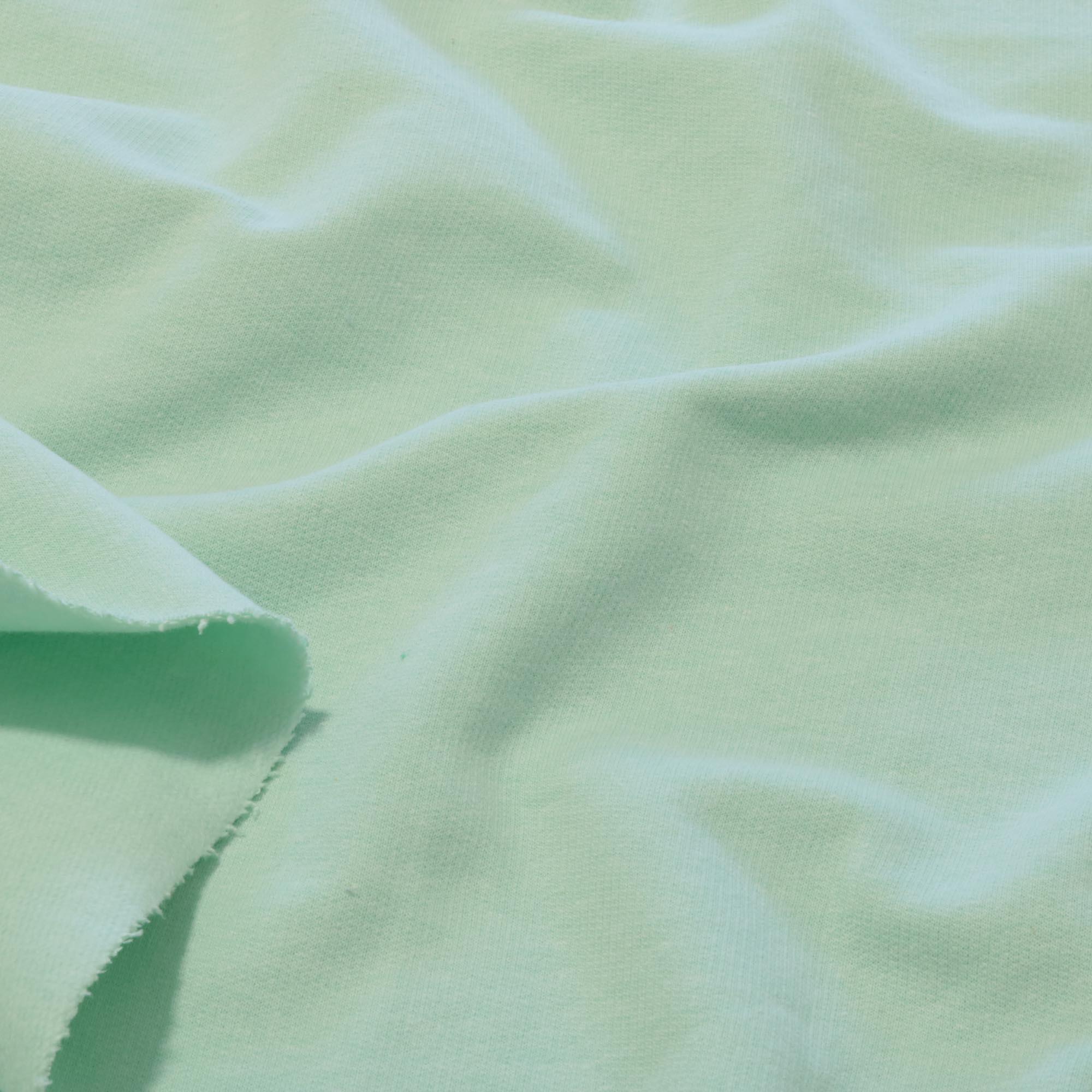 Tecido Moletom 100% Algodão 2,00 Mt Largura Verde Bebe