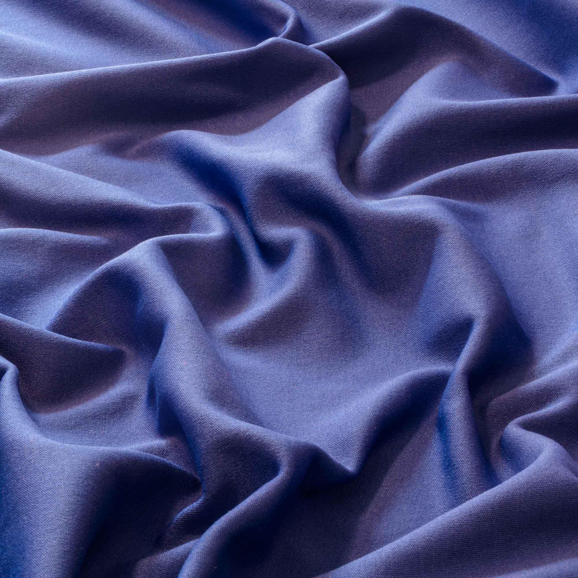 Tecido Moletom Azul Royal 100% Poliester 1,20 m Largura