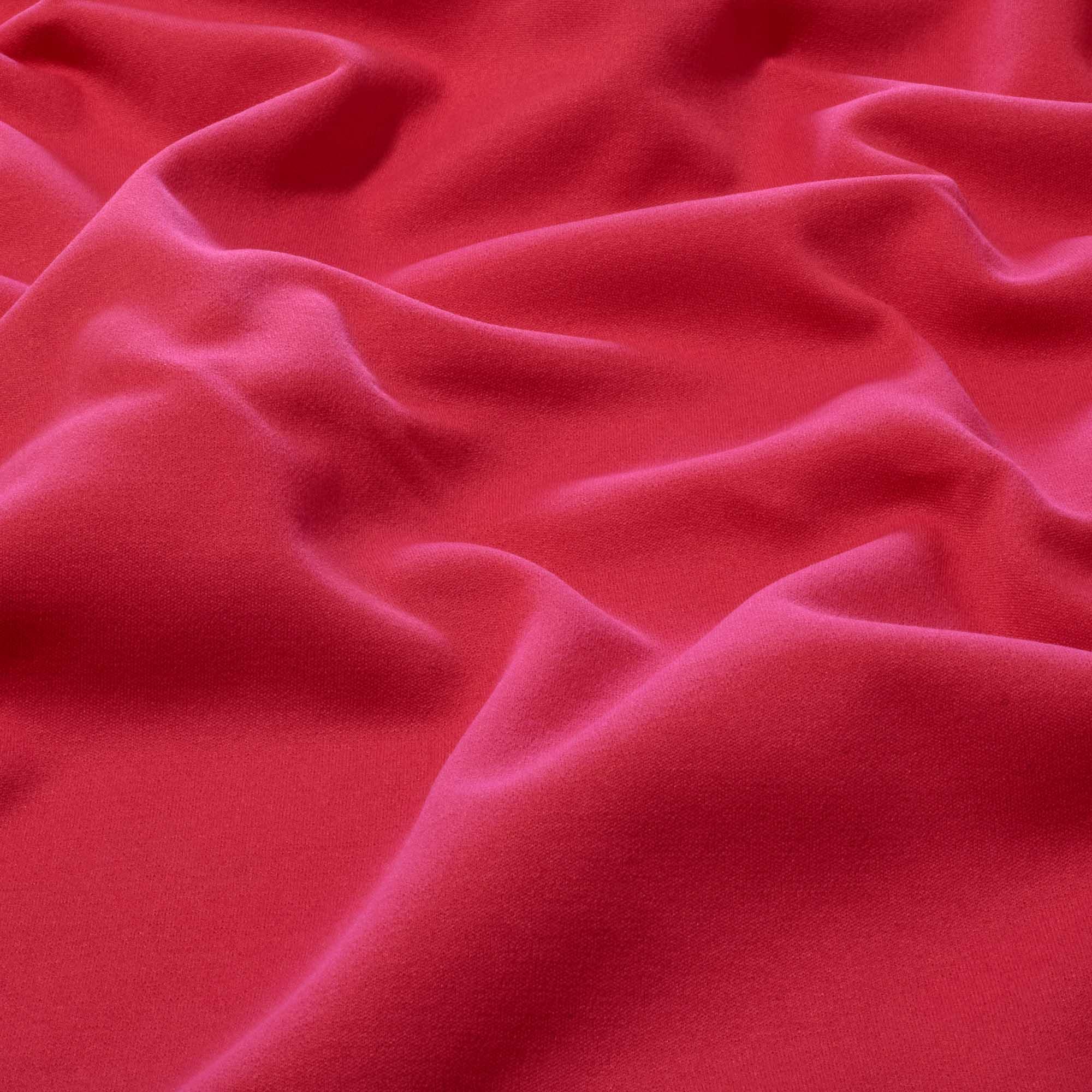 Tecido Moletom Rosa Chiclete 100% Poliester 1,20 m Largura