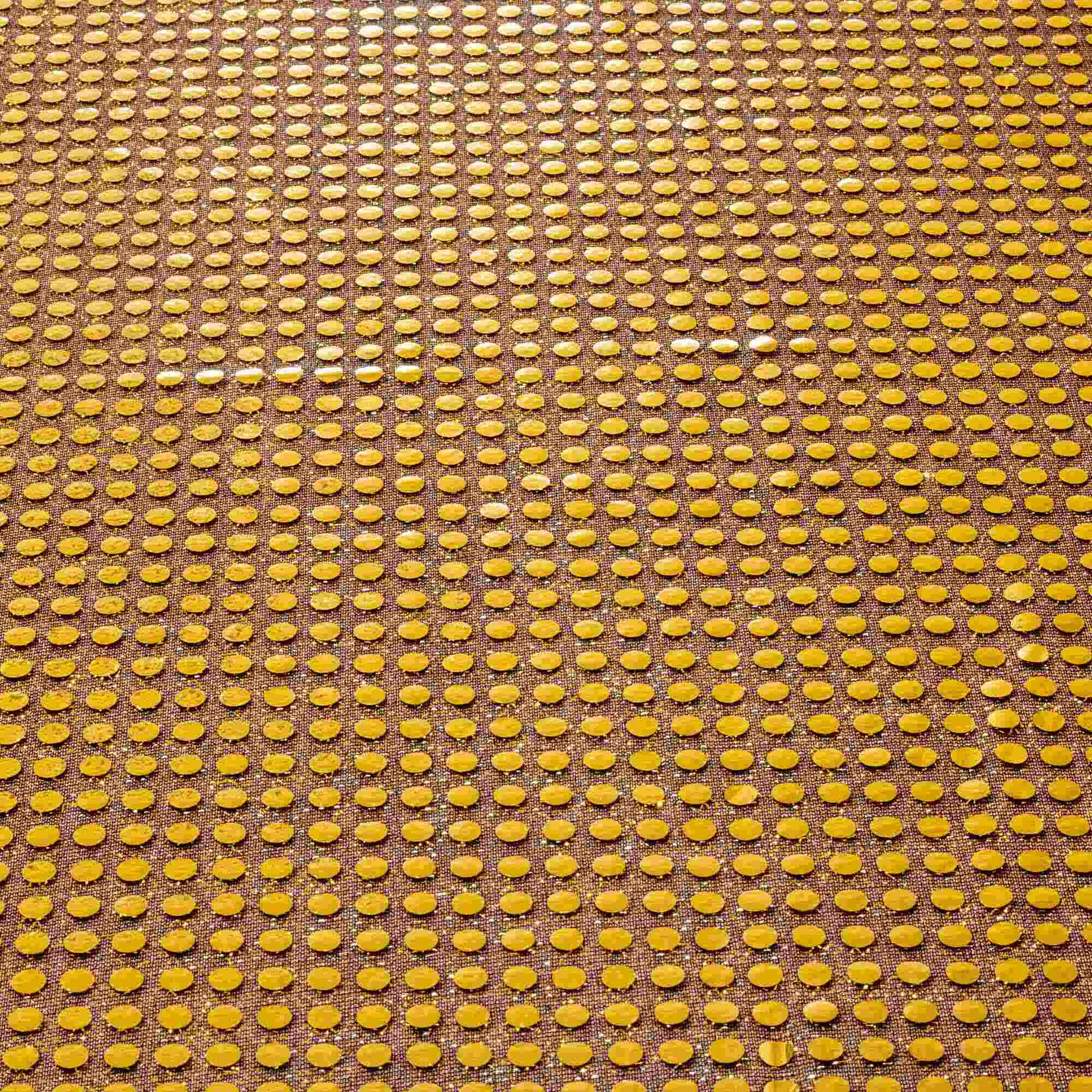 Tecido Paete Dourado 1,00 Mt Largura
