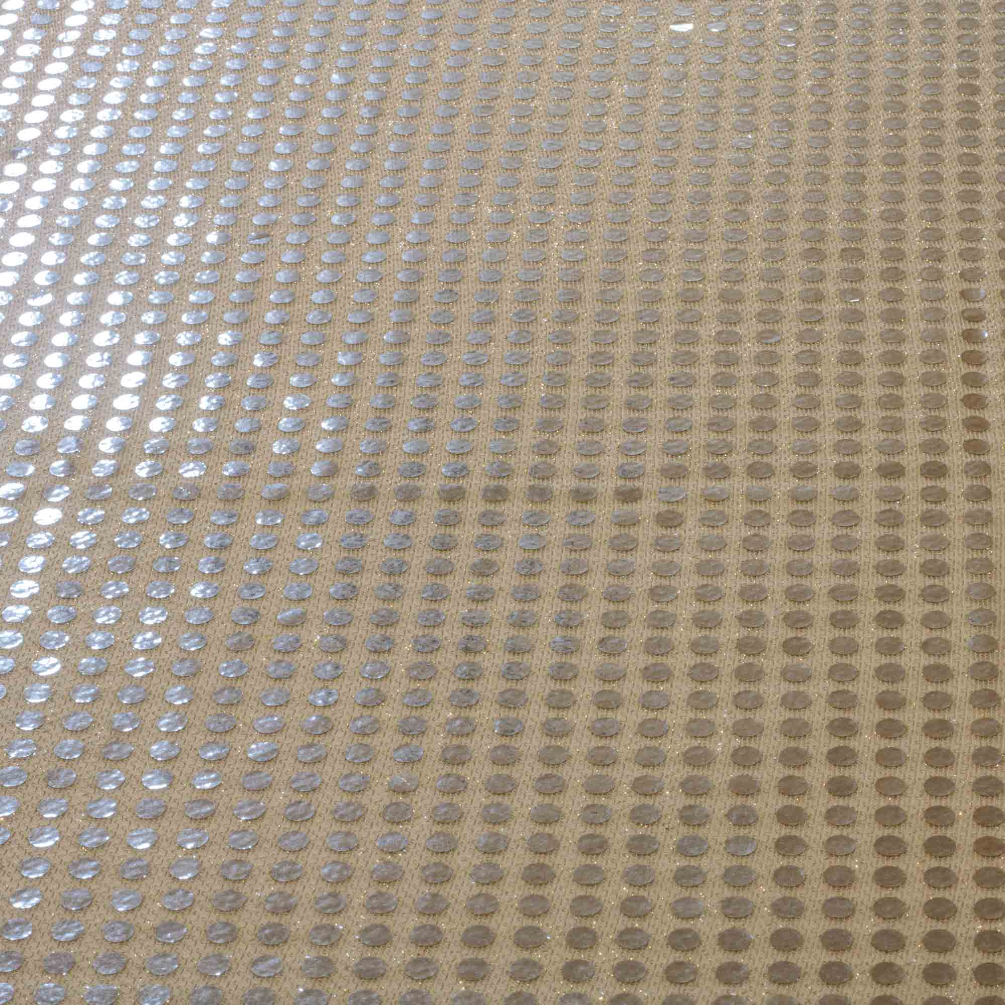 Tecido Paete Prata 1,00 Mt Largura