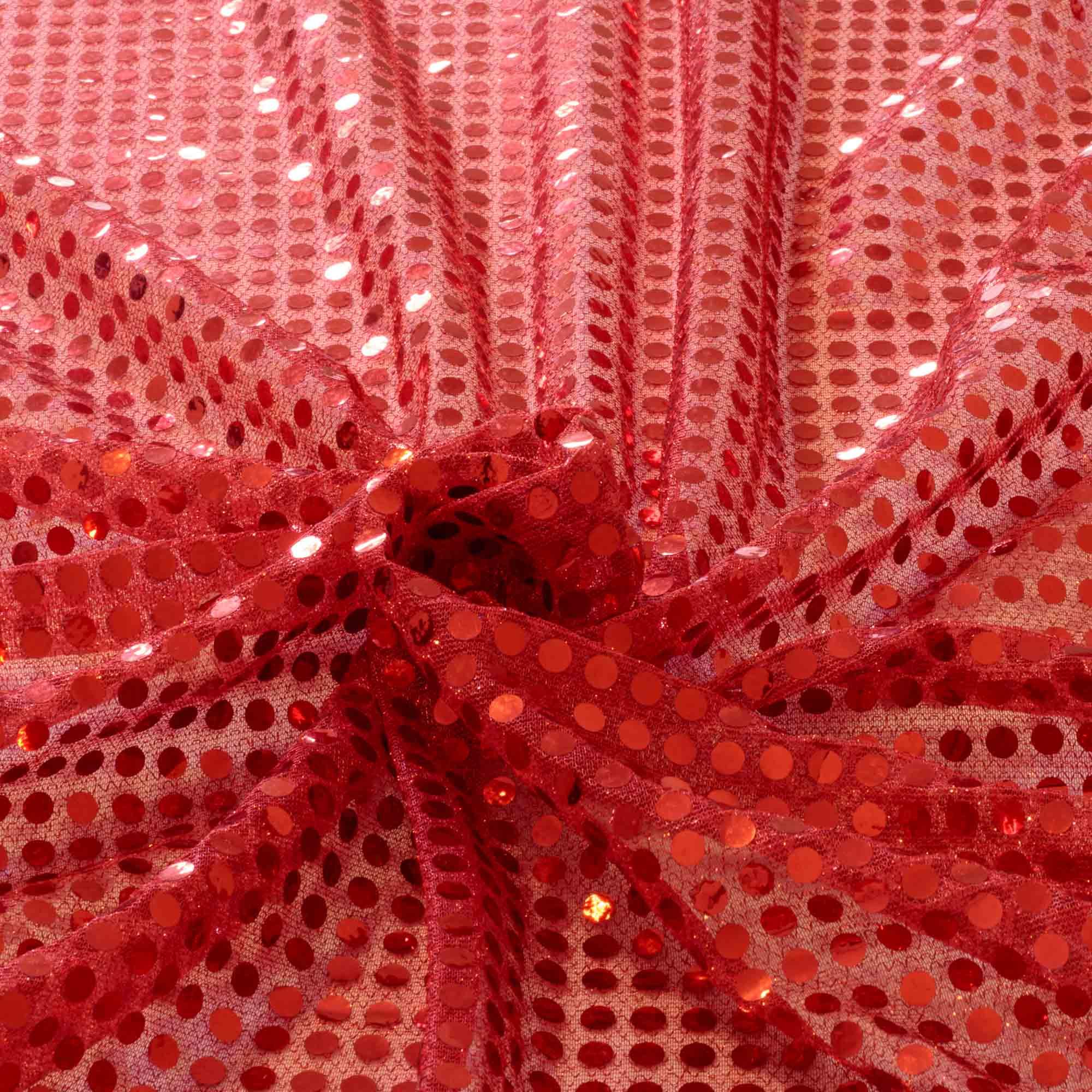 Tecido Paete Vermelho 1,00 Mt Largura