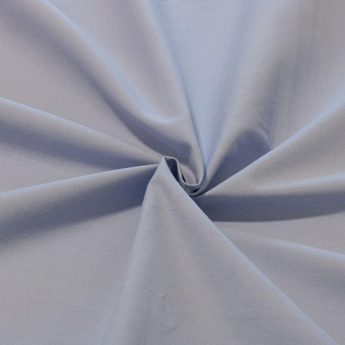 Tecido Percal Liso 100% Algodão 2,50 m Largura Azul Claro