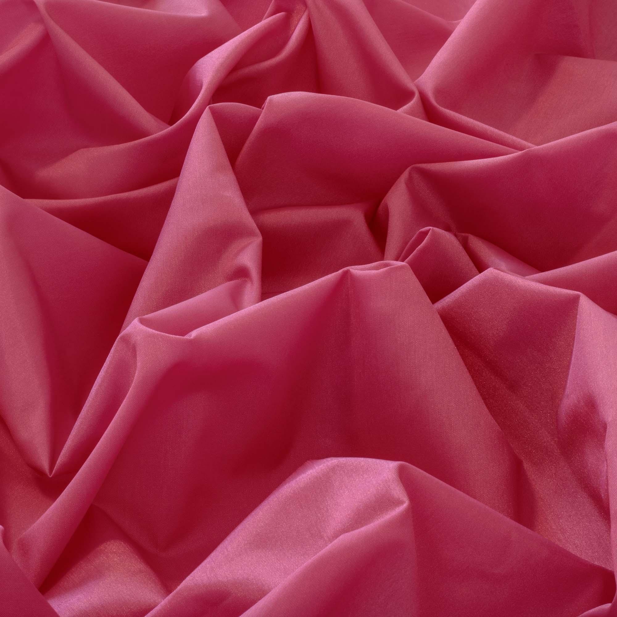 Tecido Tafeta Rosa 100% Poliester 1,40 m Largura