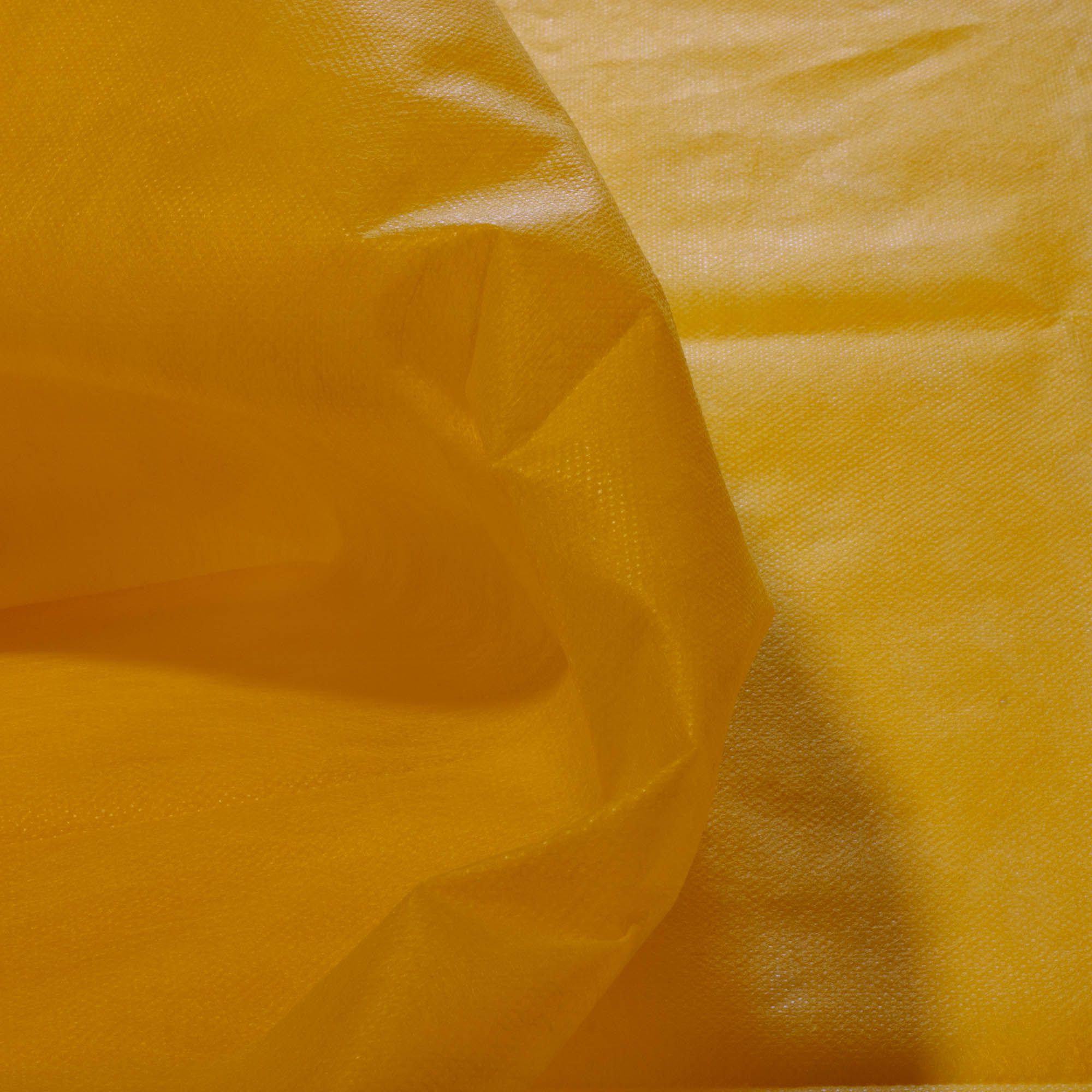 Tecido TNT Amarelo  100% Poliamida 1,40 m Largura