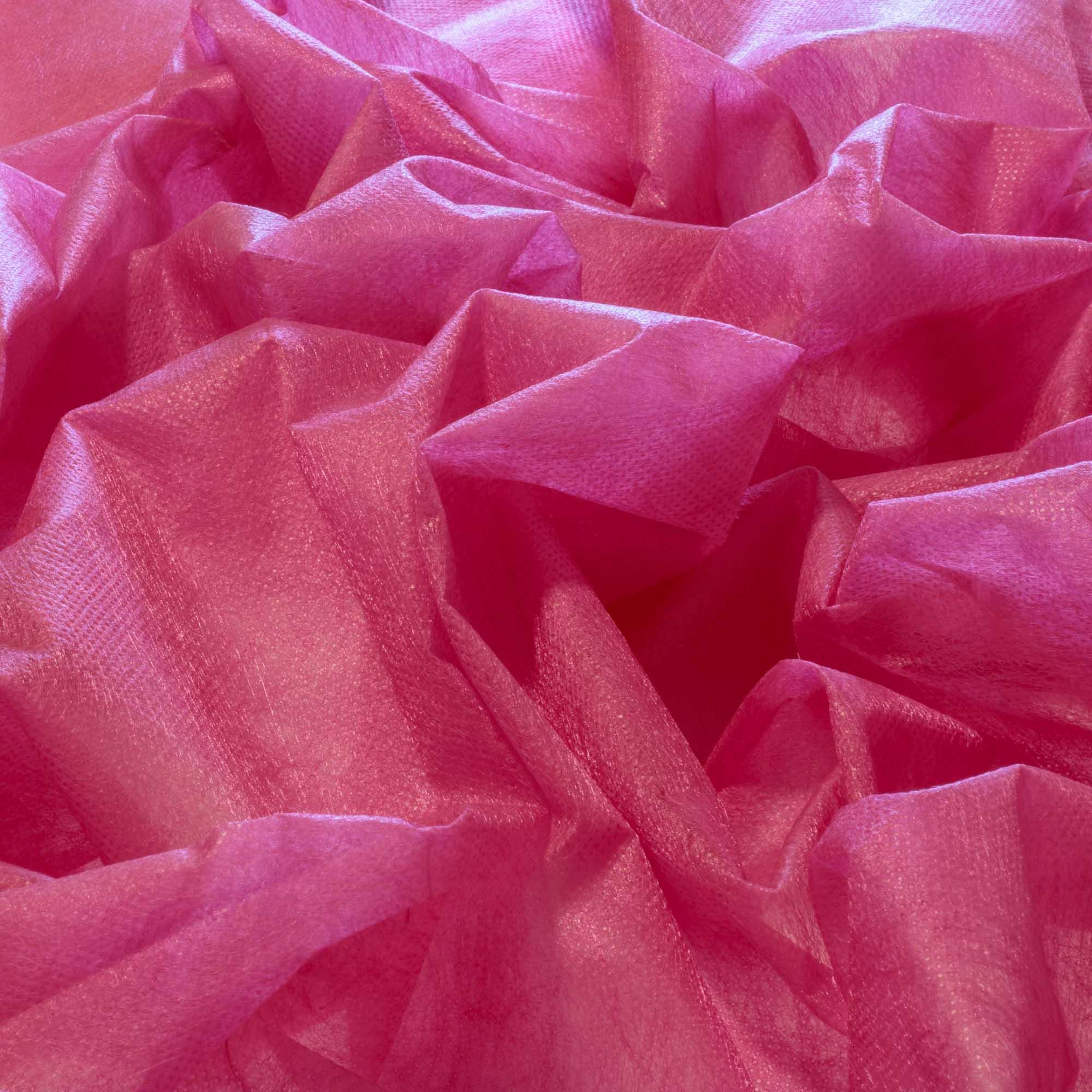 Tecido TNT Rosa Pink 100% Poliamida 1,40 m Largura