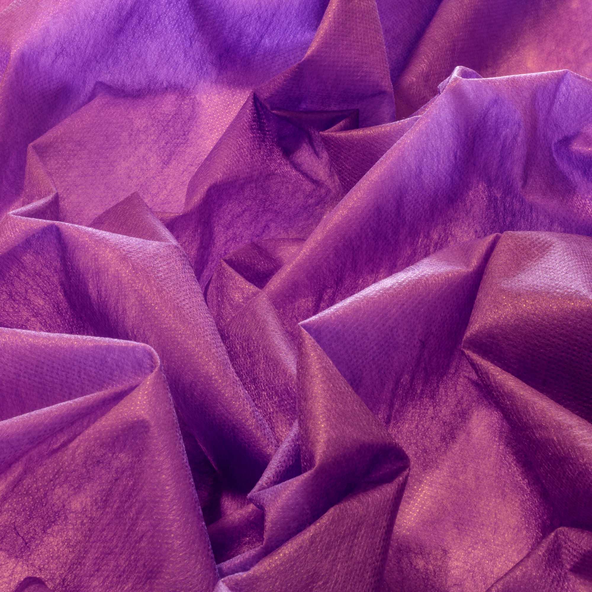 Tecido TNT Roxo 100% Poliamida 1,40 m Largura