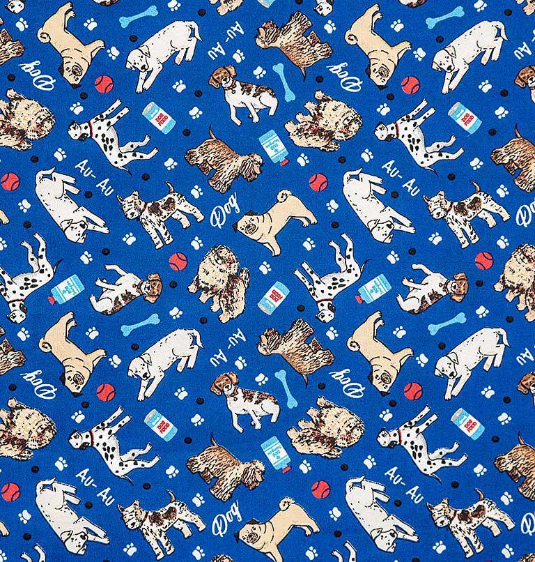 Tecido tricoline estampado dogs dohler 100% algodão