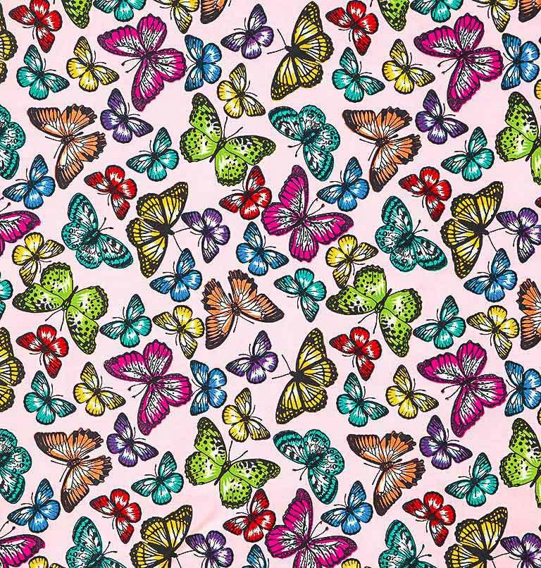 Tecido tricoline estampado patchwork dohler 100% algodão