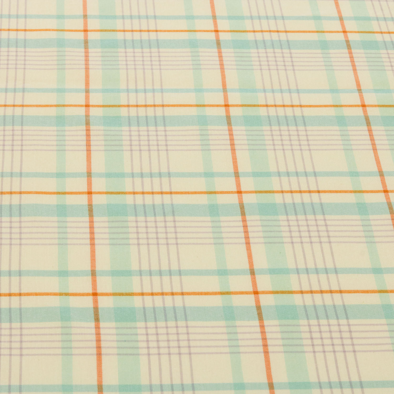 Tecido Tricoline Estampado Xadrez 1 Metro x 1,50 Mt Azul
