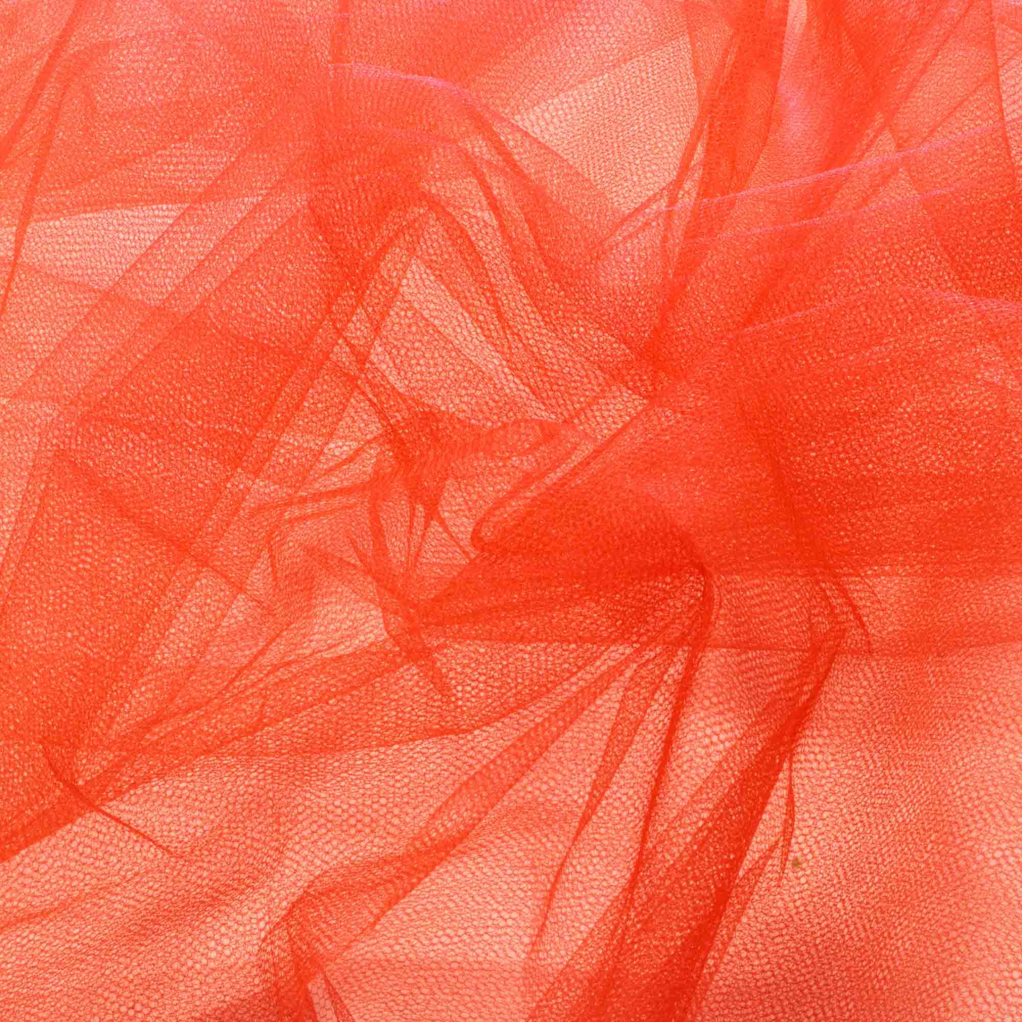 Tecido Tule 100% Poliester 1,20 Mt Largura 046  Vermelho Tomate