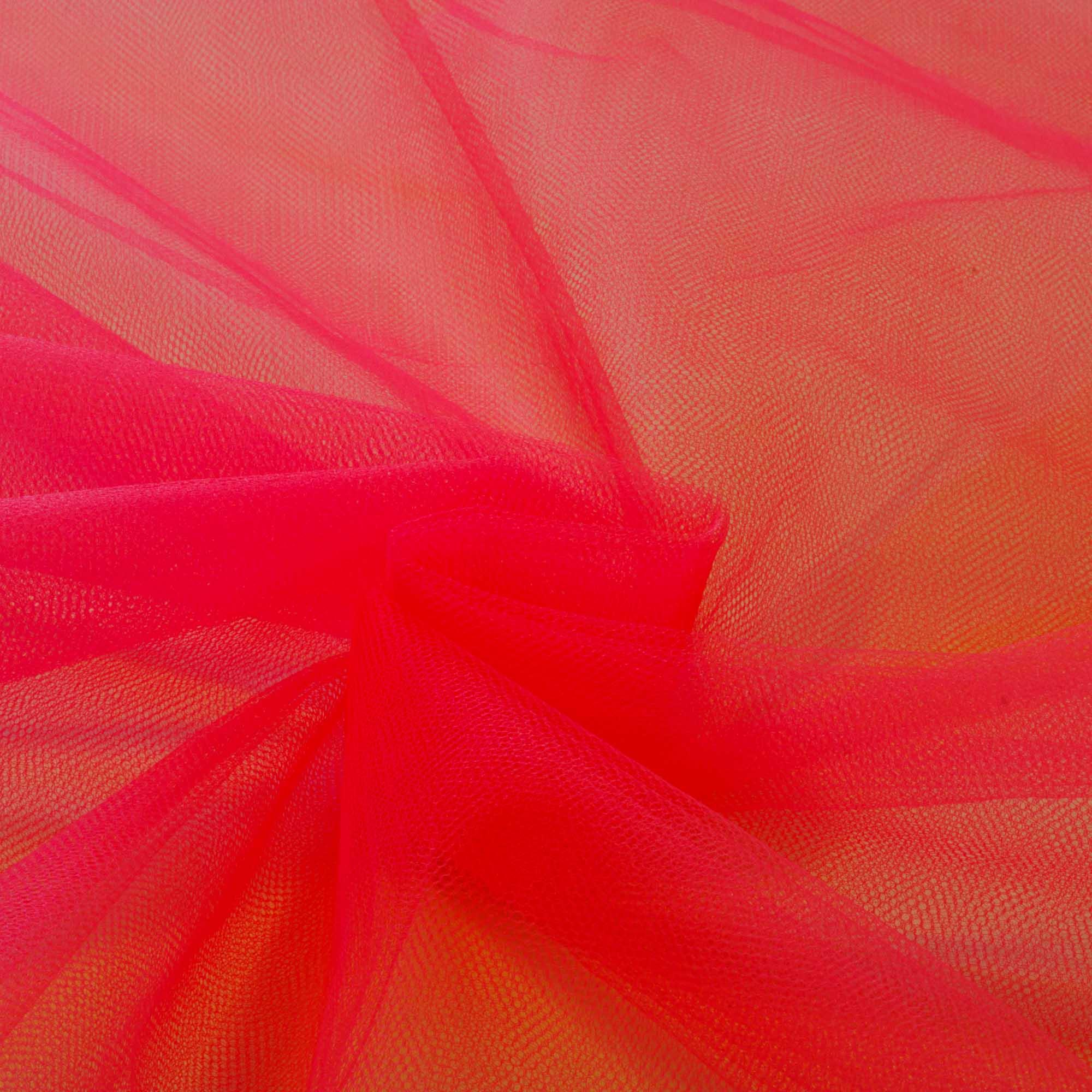 Tecido Tule 100% Poliester 1,20 Mt Largura 050 Rosa Maravilha
