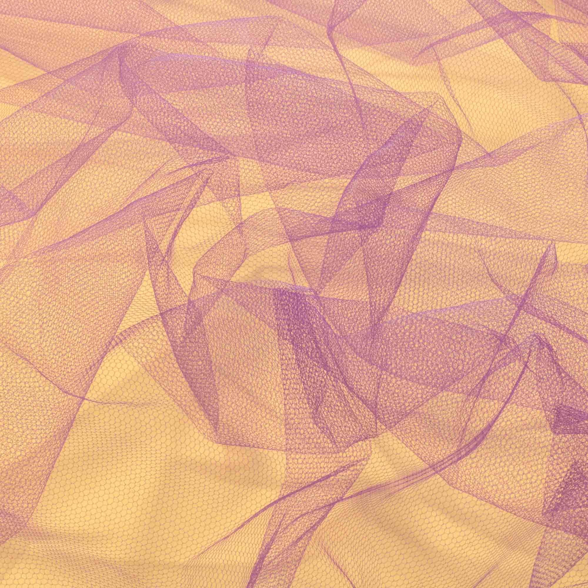 Tecido Tule 100% Poliester 1,20 Mt Largura 059 Violeta
