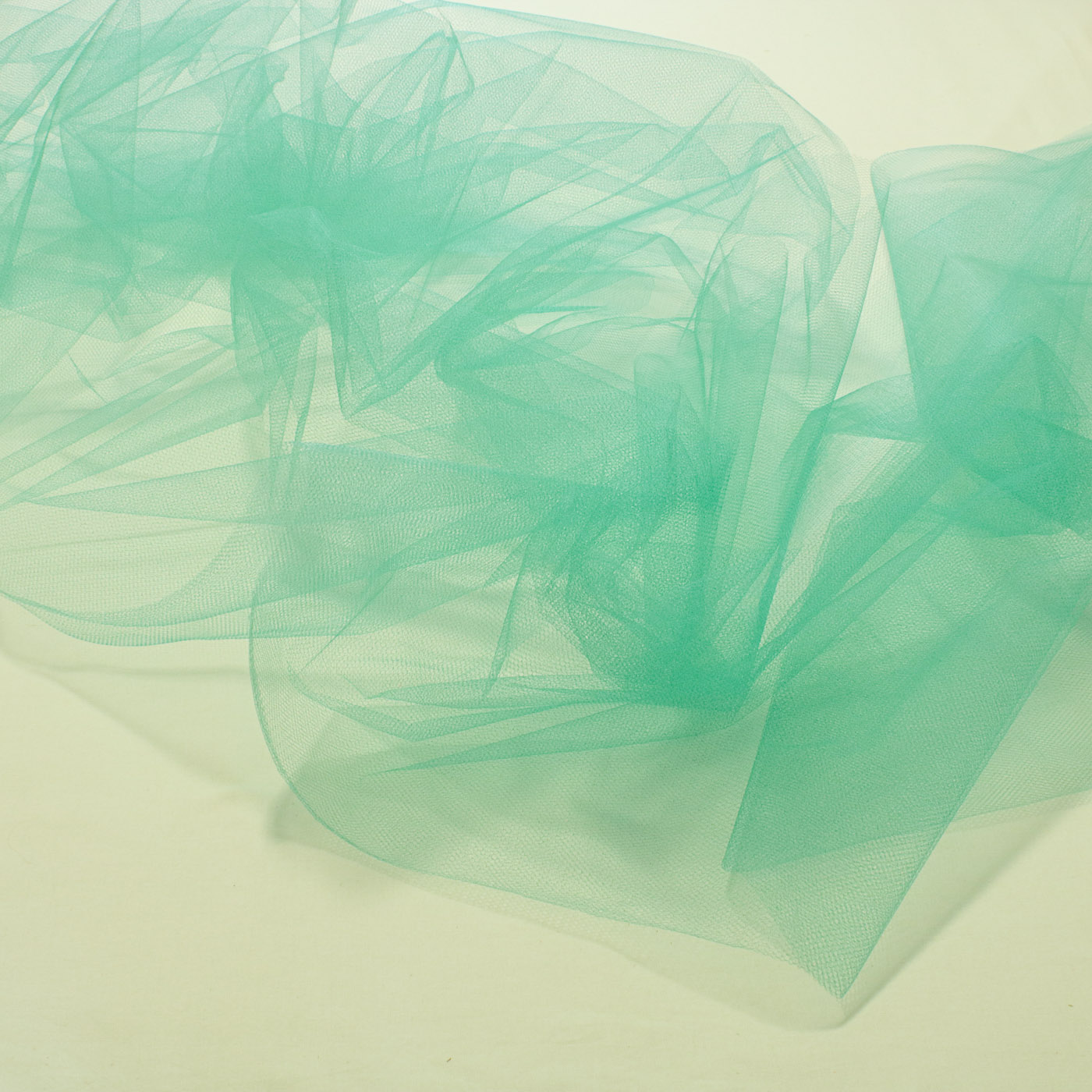 Tecido Tule 100% Poliester 1,20 Mt Largura 123 Verde Tiffany