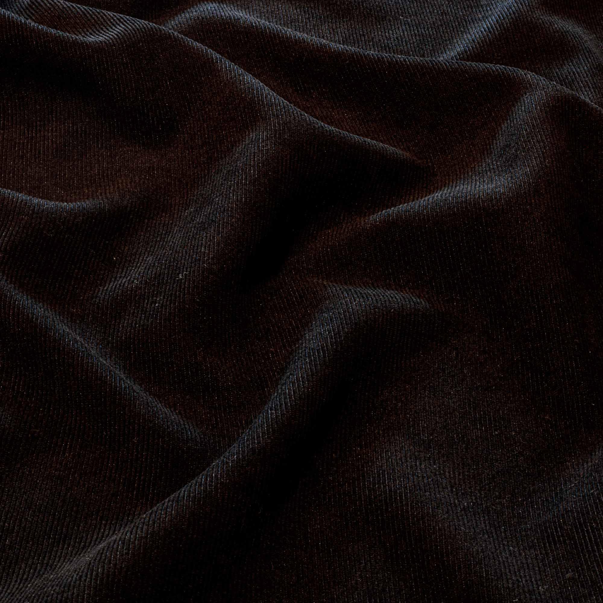 Tecido Veludo Cotele Preto 1,40 Mt Largura