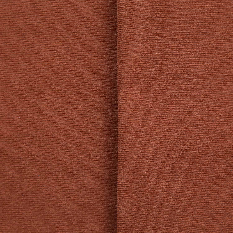 Tecido Veludo Cotele Marrom 97% Algodão 3% Elastano 1,40 mt Largura
