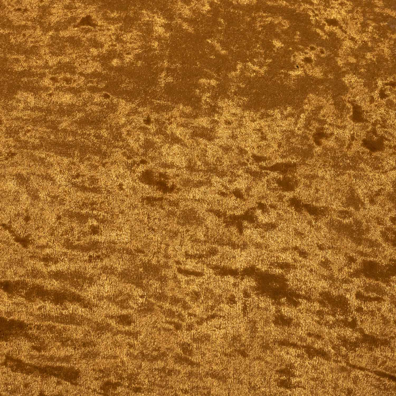 Tecido Veludo Molhado 1,40 m Largura Dourado
