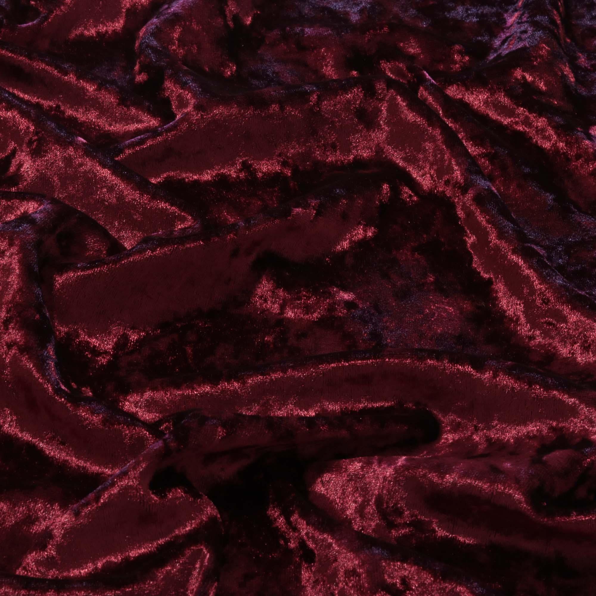 Tecido Veludo Molhado 1,40 m Largura Vinho