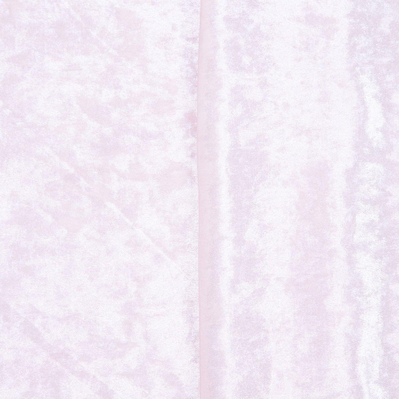 Tecido Veludo Molhado Salmao 94% Poliester 6% Elastano 1,40 m Largura
