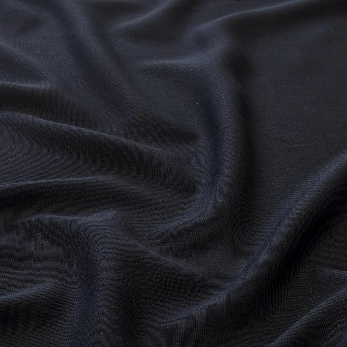Tecido Viscolinho 1,50 largura 75% Viscose 25% Linho Preto