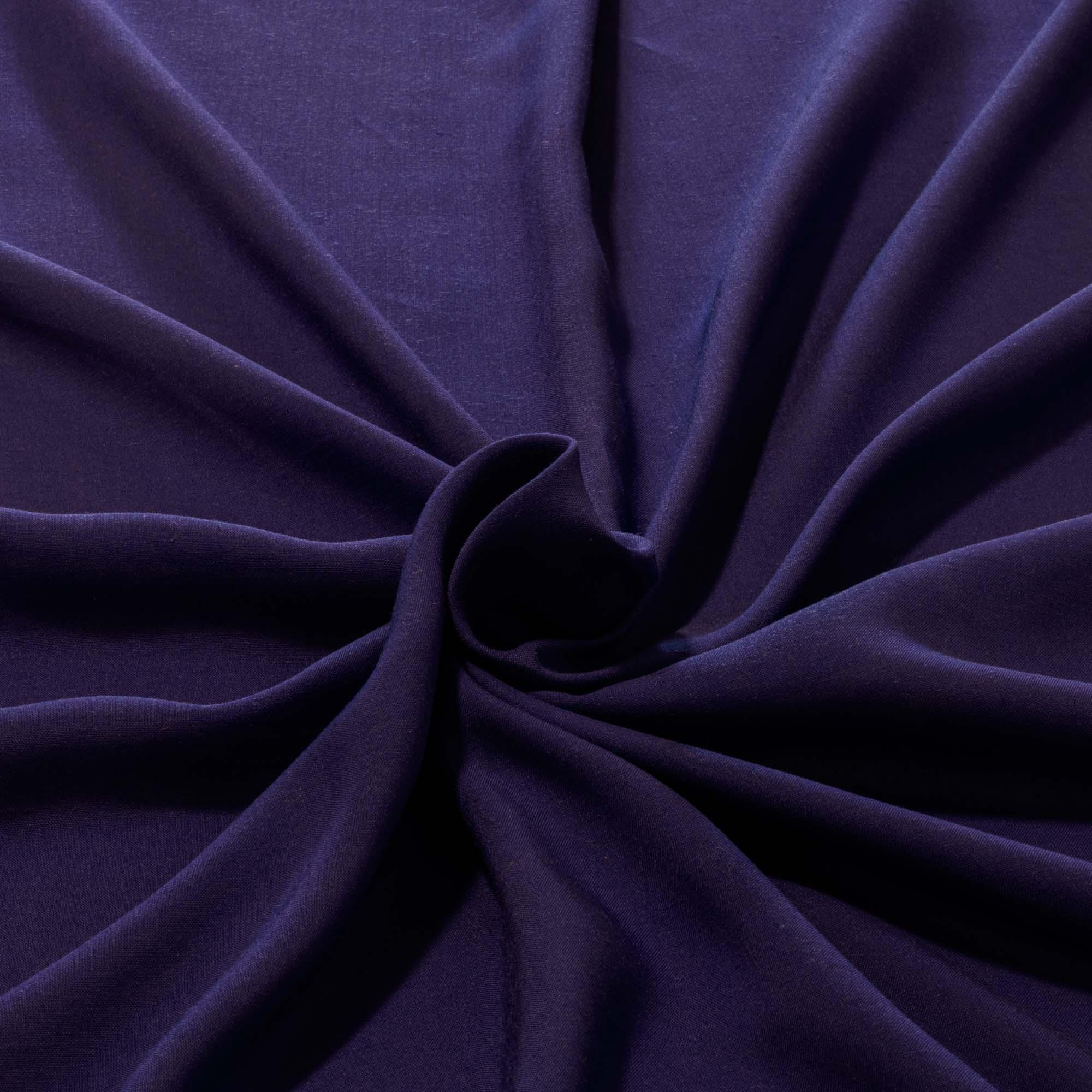 Tecido Viscose Azul Royal 100% Viscose 1,40 m Largura