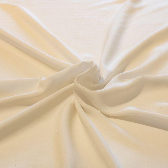 Tecido Viscose Branca 100% Viscose 1,40 m Largura