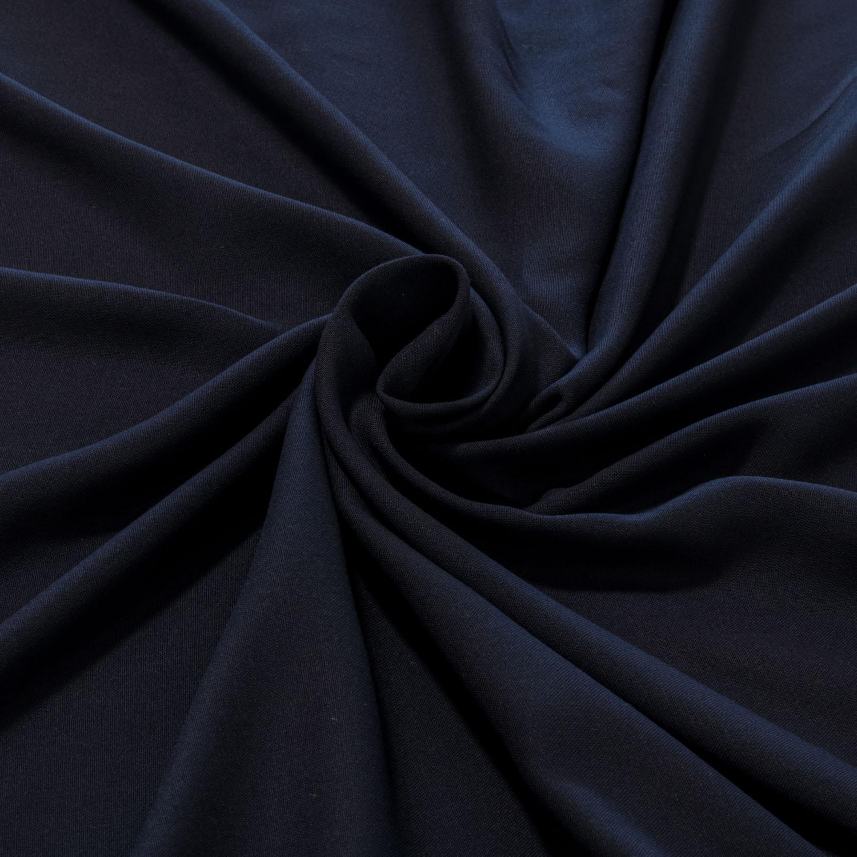 Tecido Viscose Lisa 100% Viscose 1,40 m Largura Azul Marinho