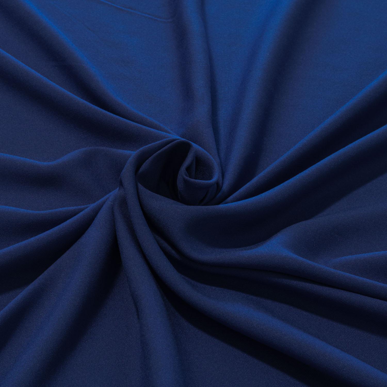 Tecido Viscose Lisa Azul Royal 100% Viscose 1,40 m Largura