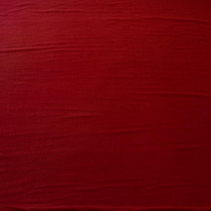 Tecido Viscose Vermelho Bordo 100% Viscose 1,40 m Largura