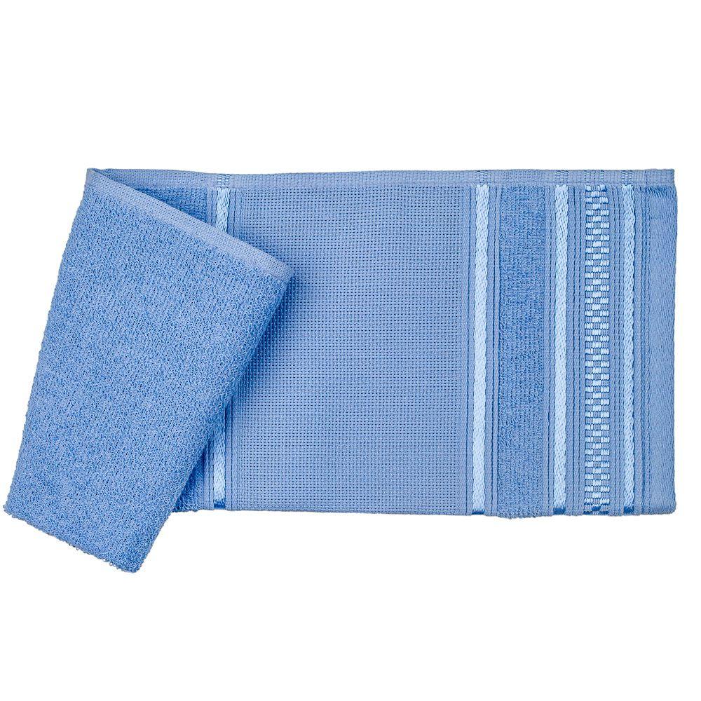 Toalha lavabo azul desiree santista 100% algodao