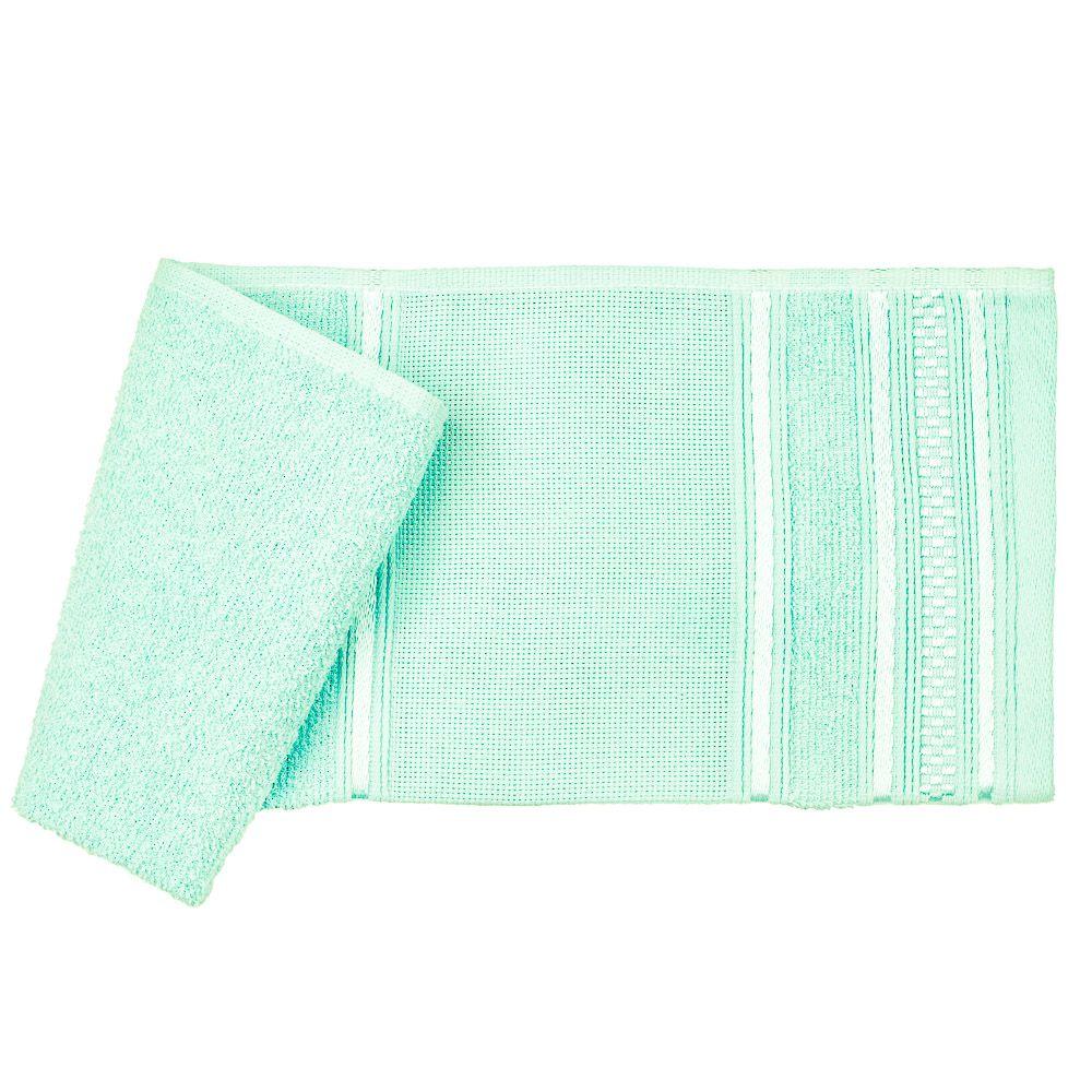 Toalha lavabo verde desiree santista 100% algodao