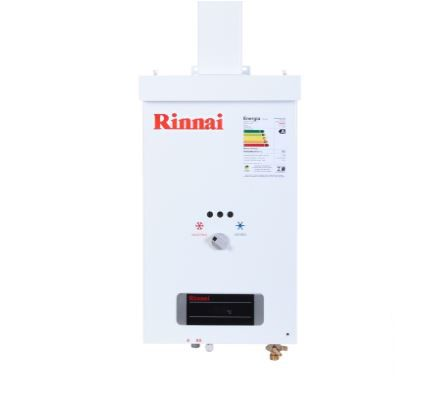 Aquecedor a Gás REU-73 BR Rinnai - 7,5 litros