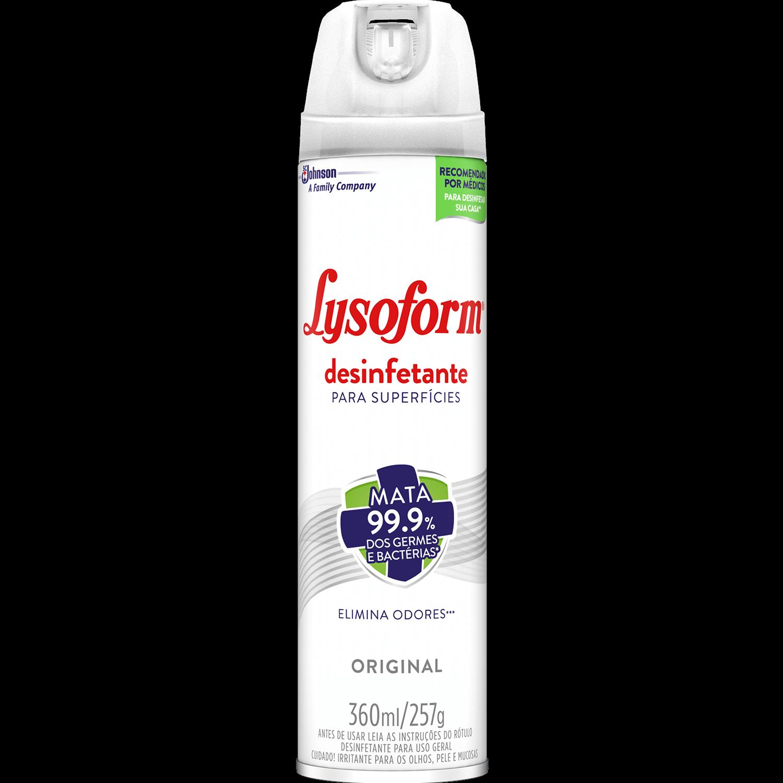 Desinfetante Aerossol - LYSOFORM