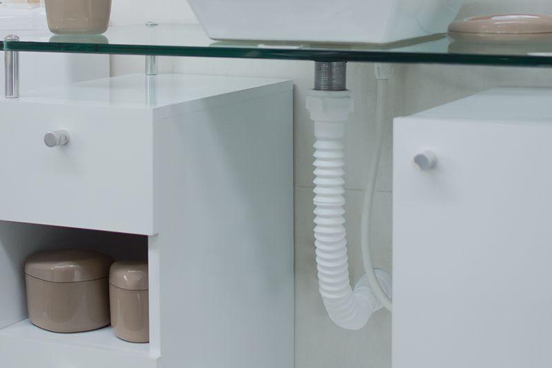 Sifão Sanfonado Universal Plástico - ASTRA