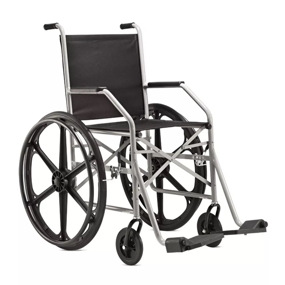 Cadeira de rodas Jaguaribe (pneu maciço)