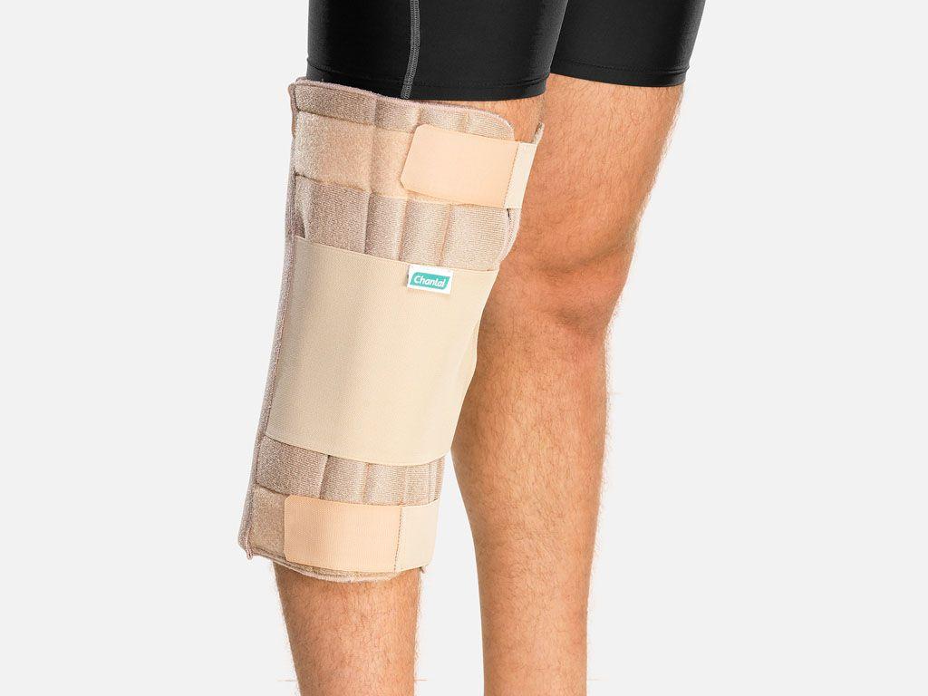 Imobilizador parcial de joelho (P,M,G,GG)