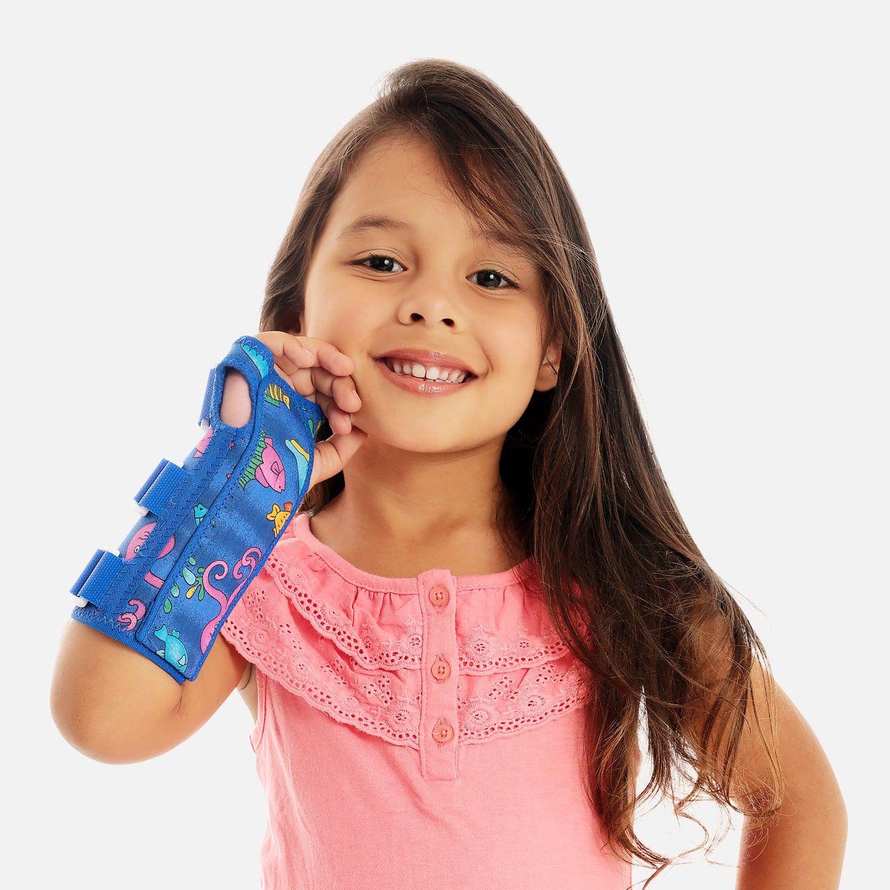 Tala para Punho Infantil com Dedos Livres - Bilateral - Chantal