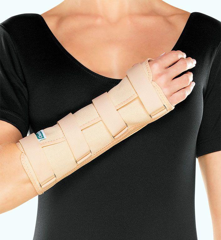 Tala para punho com dedos livres (longa) Chantal (PP,P,M,G,GG)