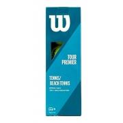 Bola De Beach Tennis Wilson Tour Premier Com 03 Unidades
