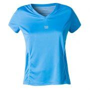 Camiseta Wilson Performance  II SS - Azul Celeste